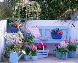Small Patio Decorating Ideas by Decorate Your Patio With Flower Pots Best Home Design Ideas