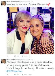 brady bunch s florence henderson dies on thanksgiving day aged 82