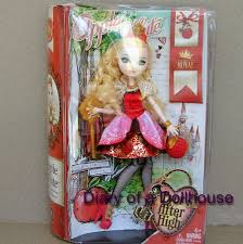 Ever After High Apple White Doll My New Apple White Ever After High Doll By Mattel Diary Of A
