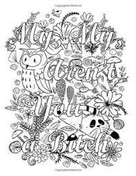 coloring book swear words on behance coloring pages
