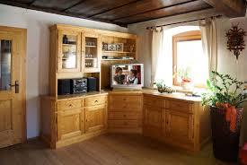 Wohnzimmerschrank Massiv Wohnzimmerschrank In Fichte Massiv über Eck Eingebaut Möbel