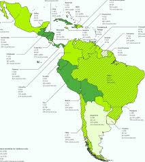 Latin America Map Countries by Planning Cancer Control In Latin America And The Caribbean Pdf