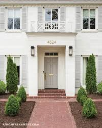 Popular Exterior House Colors 2017 Best 25 Brick House Colors Ideas On Pinterest Painted Brick