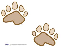 bear foot print free download clip art free clip art on