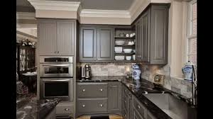 Grey Kitchen Cabinets YouTube - Gray kitchen cabinets