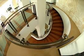 stunning spiral staircase decoration with stainless steel