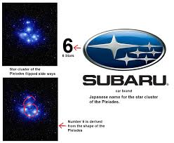 subaru logo pleiades and the origins of the number 6 truth control