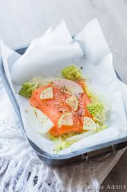 cuisine papillote trout papillote with fennel and romanesco cauliflower cuisine addict