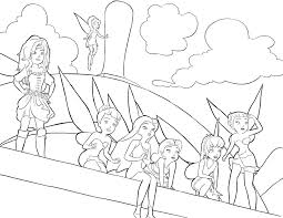 printable disney fairies coloring pages coloring