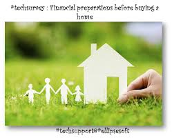 techsurvey financial preparation before buying a new home http