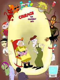 courage the cowardly dog courage the cowardly dog poster by whitemageoftermina on