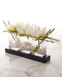 faux floral arrangements richard collection water lilies faux floral arrangement