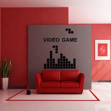 aliexpress com buy reomvable wall stickers tetris game video
