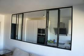 vitre separation cuisine vitre separation cuisine verriare et cloison atelier dartiste pour