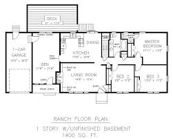 interesting ranch home floor plans with walkout basement 54 about how to draw a home plan