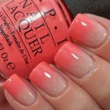 pink and melon ombre nails nail art pinterest pink nails