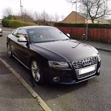 audi s5 v8 6 speed manual black red leather top spec 400 bhp