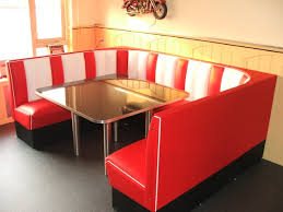 diner style booth table diner booth sets retro booths 50s with regard to popular household