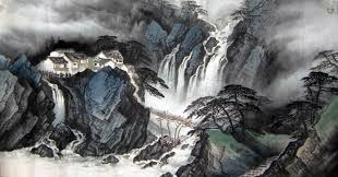 Mountain Landscape Paintings by Original Chinese Mountain Landscape Painting Wall Art