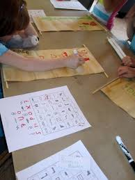 kids activity ideas for ancient egyptian history hieroglyphics
