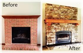 fireplace brick wall fireplace with wood fireplace mantel and