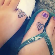 friend tattoos friendship tattoos on feet for girls best friends