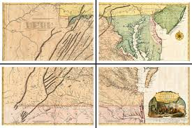 Winchester Virginia Map by Old Map Of Virginia 1809 Berkeley Frederick Jefferson Co