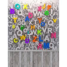printable vinyl letters colorful letters wall school photography backdrops computer printing