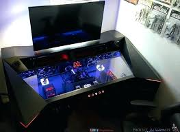 top pc gaming desks best pc gaming desk good gaming desks rd cool gaming desk pc gaming