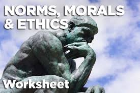 norms morals and ethics worksheet carnegie council for ethics