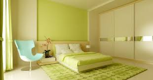 Exclusive Residence Designbedroom Paint Color Schemes Design - Green bedroom color
