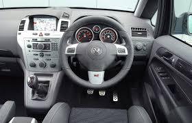 vauxhall zafira vxr 2005 2010 driving u0026 performance parkers