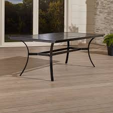 Rectangular Patio Tables Outdoor Patio Dining Furniture Crate And Barrel