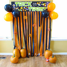 halloween bday party background halloween photobooth photo backdrop i just made from dollar