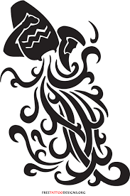 35 cool aquarius designs aquarius sign tattoos