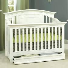 Cribs That Convert Lovely White Converted A Size Bed Into Size