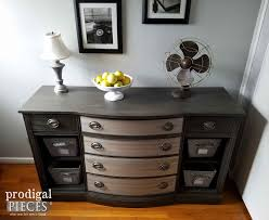 vintage buffet from trash to trashure prodigal pieces