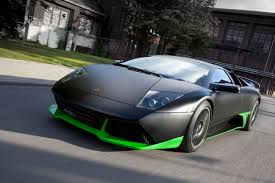lamborghini green and black edo competition lp750 based on the murcielago edo lp750 05 hr