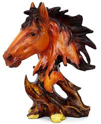 Home Decor Statues 50 Off On Tied Ribbons Horse Statue Home Decor Statues