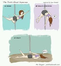 Pole Dancing Memes - 13 best comics pole images on pinterest pole dance pole fitness