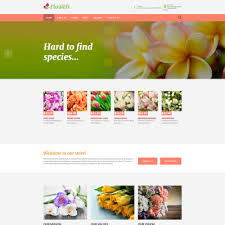 Flower Store Flowers Joomla Template