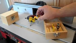 custom tongue and groove router bits youtube