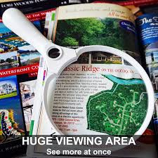 9 Funny Maps Of Virginia by Amazon Com Fancii 5 5 Inch Extra Large Led Handheld Magnifying