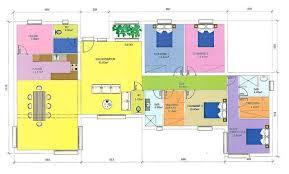 plan maison plain pied 5 chambres plan maison 5 chambres plain pied gratuit finest plan maison pas