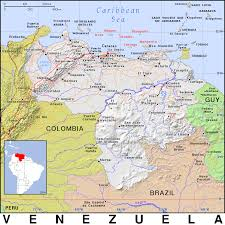 Venezuela Map Ve Venezuela Public Domain Maps By Pat The Free Open Source