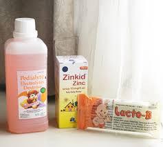 Obat Zinc review rangkaian obat diare anak