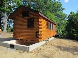 unfinished cabins log cabins wisconsin trophy amish cabins llc delivery