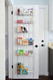 Kitchen Cabinet Door Storage Top 25 Best Pantry Door Storage Ideas On Pinterest Door Storage