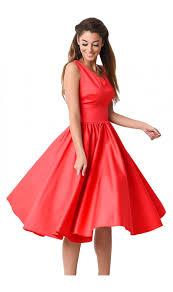rochii vintage rochie vintage de culoare rosie deosebita perfecta pentru tine 24
