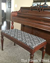the black u0027s best piano bench recover